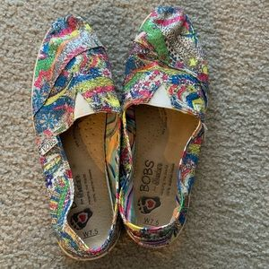 Skechers BOBS sequin shoes SZ 7.5